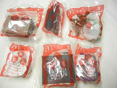McDONALD'S TOYS - 2003 - HAUNTED MANSION - SET OF 6 - NEW IN PKG.