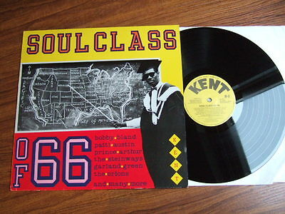 Soul Class Of 66 Lp - Northern Soul - Various Artists - Kent Records 011 / Nm/m!