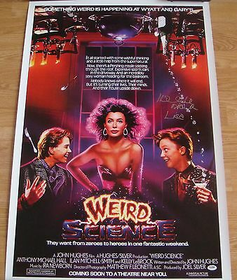 WEIRD SCIENCE Signed KELLY LEBROCK 24x36 Poster COA Autographed PROOF