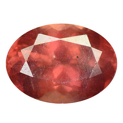 2.06 ct HUGE UNIQUE RARE NATURAL FROM EARTH MINED PINKISH RED MALAYA GARNET