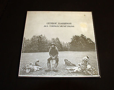 3 LP Box - George Harrison - All Things Must Pass - 1970