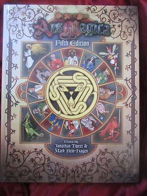 ARS MAGICA FIFTH EDITION - CORE RULEBOOK (RARE) Roleplaying Game