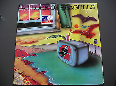 A FLOCK OF SEAGULLS - same Lp Album Vinyl Electronic, Synth Pop, New Wave