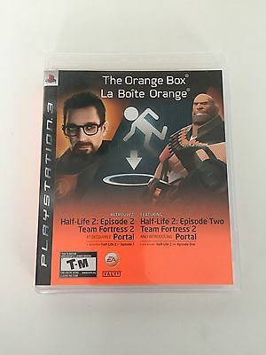 The Orange Box Playstation 3 PS3 Complete
