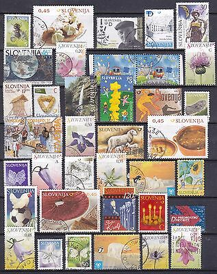 Slovenia Modern Used Lot 2 Scans Cat £85
