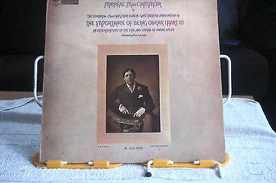 MICHEAL MACLIAMMOIR-The Importance Of Being Oscar(Part II)-UK LP-NM-1961-
