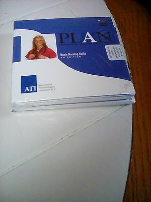 NEW ATI PLAN Basic Nursing Skills RN Edition DVD Set OF 6 2007 FREE SHIPPING