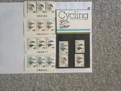 Royal Mail Mint Stamps_Cycling_ 1979 + Extra Mint Stamps_