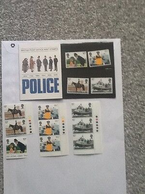 Royal Mail Mint Stamps_Police_ 1979 + Extra Mint Stamps_