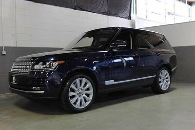 2014 Land Rover Range Rover Supercharged Sport Utility 4-Door BEAUTIFUL 2014 RANGE ROVER SUPERCHARGED, LOADED WITH OPTIONS, JUST SERVICED