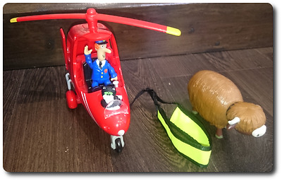 Postman Pat music helicopter cow figures accessories