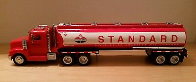AMOCO 1998 talking light up TOY TANKER TRUCK 5th IN SERIES  new in box free ship