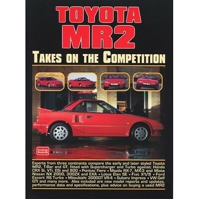 Toyota MR2 Takes on the Competition book paper
