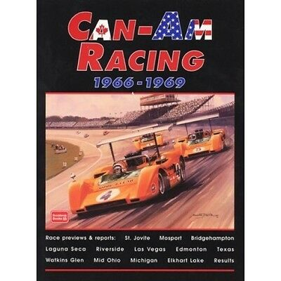 Can-Am Racing 1966-1969 book paper