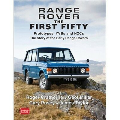 Range Rover The First Fifty book paper