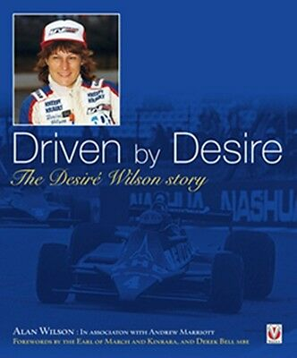 Driven by Desire The Desiré Wilson story book paper