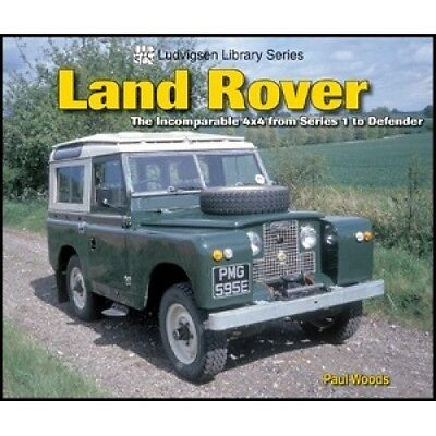 Land Rover: The Incomparable 4x4 from Series 1 to Defender book paper