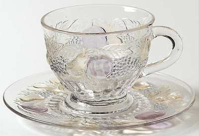 Westmoreland DELLA ROBBIA FLASHED Punch Cup & Saucer 8577936