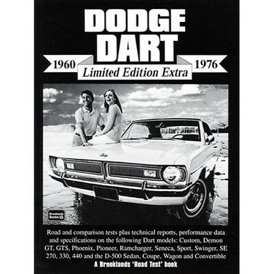 Dodge Dart 1960-1976 Limited Edition Extra book paper