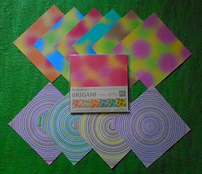 52 Origami Papers with Mysterious Gradation Patterns