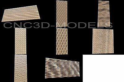 3D STL Models for CNC Router Engraver Carving Artcam Aspire Wood Decor 1128