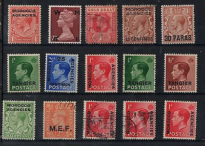 Morocco Tangiers  15 Mint & Used