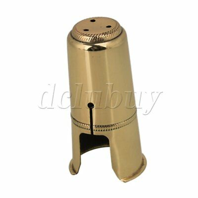 Durable Soprano Saxophone Mouthpiece Cap Metal Musical Instrument Supplies