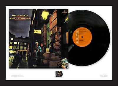 The 'forgotten' David Bowie Stamp (Pre Order) ROYAL MAIL (Ziggy Stardust)