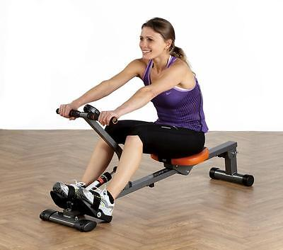 Regatta Rower Rowing Machine Adjustable 5 Minute Train all Muscles W Counter NEW