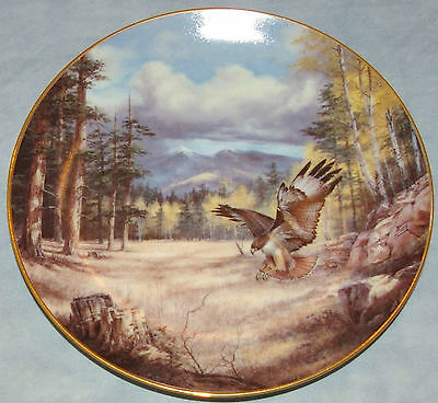 PLATE 'A Pinpoint Landing' Nature's Majesty Rudi Reichardt