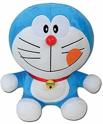 "*NEW* Doraemon: Delicious Smile Face 10"" Plush by GE Animation"