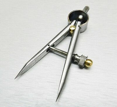"""Divider with Carbide Tip 3"""" Length Round Legs Tool Diemakers Caliper Layout Tool"""