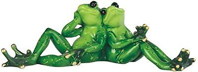 StealStreet SS-G-61182 Two Frogs Sitting And Daydreaming Figurine, 9.5