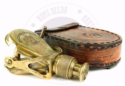 Vintage Nautical Monocular Solid Brass Antique Style Monoculer Free Shipping