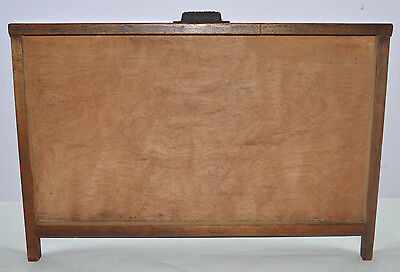 Vintage Printer's Letterpress Type Tray/Drawer Shadow Box No Partitions