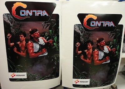 Contra Arcade Game Side art decal set