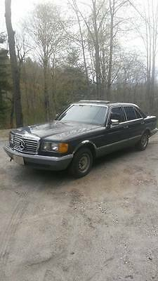 1985 Mercedes-Benz 300-Series 300sd 1985 Mercedes benz 300SD Turbo diesel. Southern car