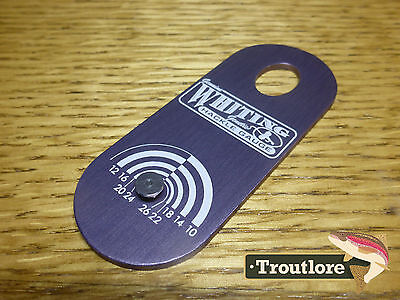 Whiting Farms Hackle Gauge For Fly Tying Vice - New Fly Tying Tool