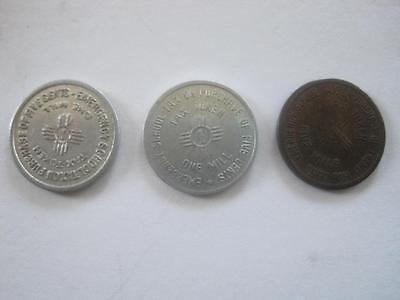 Lot 3 New Mexico Tax Tokens Emergency School