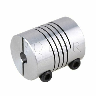 Flexible CNC Stepper Motor Clamp Coupling Connector D20L25 Coupler 5x 6mm