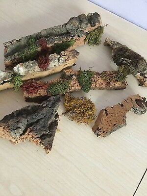 Train Scenery bark ideal for making cliff and rock faces lot 2