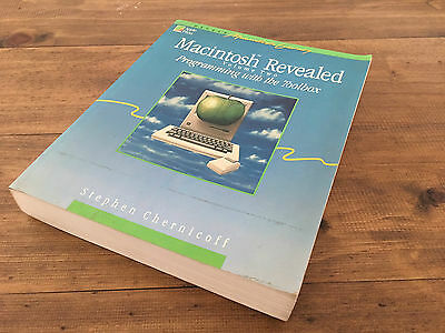 Macintosh Revealed - Volume Two: Programming With the Toolbox Stephen Chernicoff