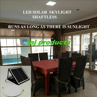 Solar Skylight 15 Watt Led Round 300 Mm / Patios/alfresco/kitchens/walk In Robes