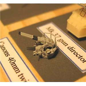 Canons Bofors 40mm doubles 1/350