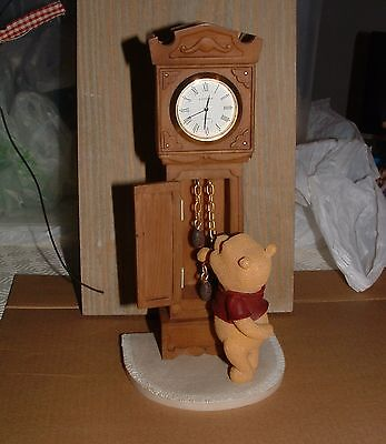 Wiinie the Pooh with Grandfather clock