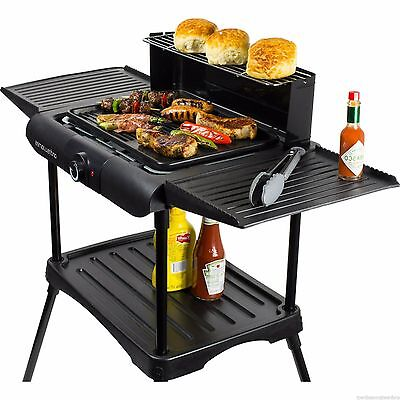Grill Electric Bbq Griddle Patio Portable Table Camping Garden Outdoor Party