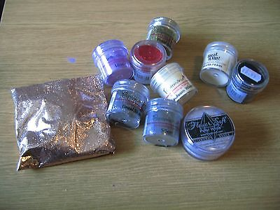 Craft Embossing Powders Papermania And Glitter Powder
