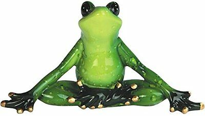 StealStreet SS-G-61156 Green Frog Yoga Figurine Set Of 2, 6