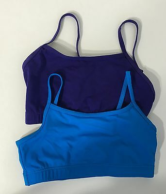 Balera LC Large Child  Bra Tops Dance Adjustable Straps Lot Of Two  #BB