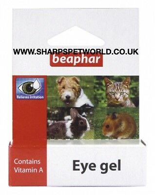 Beaphar Eye Gel 5g Dog/cat/small Animal.